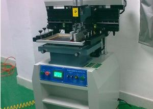 China Touch-screen solder paste printer semi-auto PT-250 model with 5s Printing Time on sale