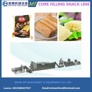 China 2017 hot selling New Condition Automatic stainess steel  Co-extruded Snacks Food Machine on sale