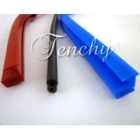 China Solid Silicone Rubber Seal Extrusion Profiles For Heat Resistant Weather Stripping on sale