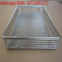 Cheap!!!! stainless steel Hospital special disinfect wire mesh basket,304 wire mesh basket hospital disinfect basket per