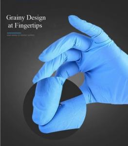 China Medical 3.5mg Nitrile And Latex Gloves Powder Free on sale