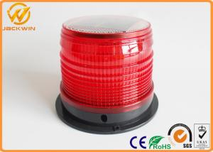 China Truck / Airport / Tower Solar Powered Beacon Light Screw / Magnetic Mounted on sale