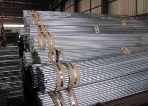 China Galvanized Welded Iron Steel Tube 30 Inch , Thin Wall Steel Tubing on sale