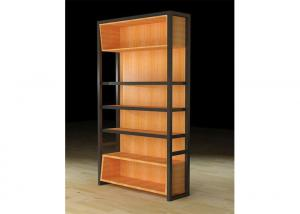 Quality Light Duty Wooden Display Cabinets , Wall Hanging Display Case For Retail Store for sale