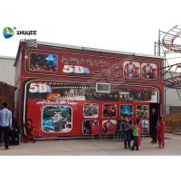 5D Cinema 5D Movie Theater Including The Outside Cabin Electronic Dynamic System