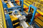 Twin Lath Roller PPGI Shutter Door Roll Forming Machine