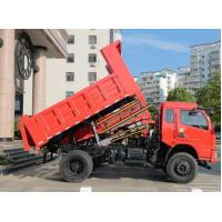 4WD / 2WD Mining Dump Truck Light Duty Type 140 Hp For Road Construction