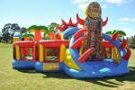 Напольный замок Inflatables оживлённый, раздувная игра партии Toys шлямбур малышей миниый раздувной