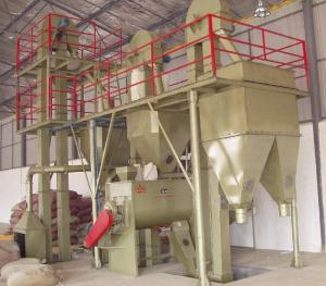 China Fish Feed Manufacturing Plant Animal Feed Pellet Mill For Breed Aquatics on sale