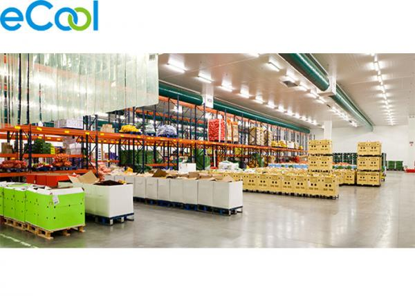 Walk In Food Storage Warehouse , Freon R22 / R404a Cold