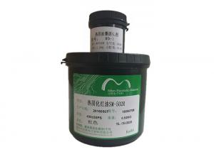 China LED / PCB Printing Ink Green Color Thermal Curable Solder Resist Mask PCB Ink on sale