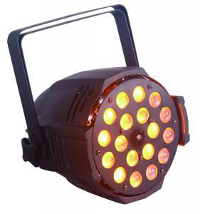 China rgbaw+uv waterproof ip65 ip rating dmx dj disco led lighting ,rgbwa uv 6 in 1 18pcs*10W led par can light with zoom on sale