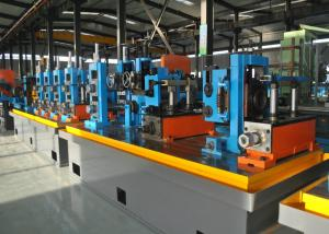 China Steel ERW Pipe Mill / Straight Seam Welded Pipe Production Line on sale
