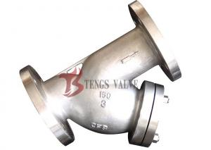 China Cast SS Y Type Strainer Industrial , API Pipeline Y Strainers RF / BW on sale