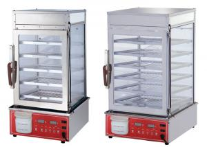China 220V Restaurant Cooking Equipment Full Vision Glass Food Warmer Display Case on sale
