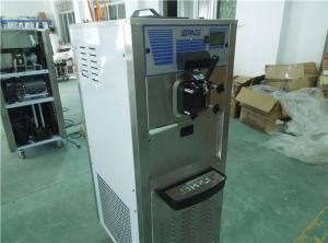 China Professional Commercial Soft Serve Frozen Yogurt Machine Auto Operation on sale