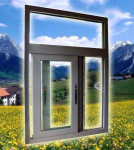 China JN81 Thermal break sliding window,aluminium,high air tightness,Water proof,structural strength. on sale