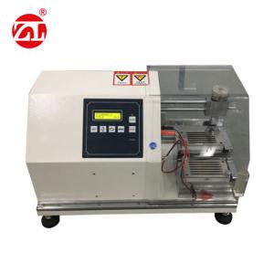 China White Rubber Testing Instruments , Rubber Glove Cutting Resistance Strength Testing Machine on sale