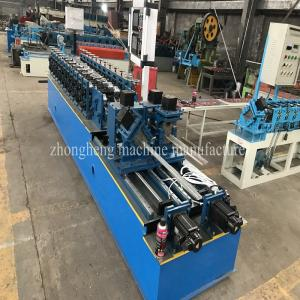 China High Speed Metal Stud And Track Roll Forming Machine C U Stud And Track Roll Former on sale
