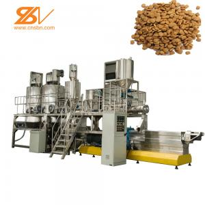 China Dry Wet Pelle Animal Feed Processing Plant Extrusion Machine For Dog Food on sale