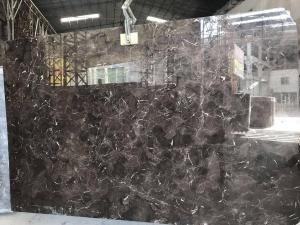 China Brown Marble Slabs CHEAPEST Dark Emperador Marble Slab in Good Quality Natural marble Tiles Slab on sale