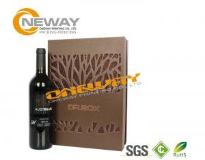 China Custom Printed Gift Boxes , Professional OEM Customed Hard Paper Wine/Flower Box on sale