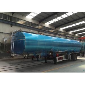 China Aluminium Alloy Tanker Heavy Duty Semi Trailer Truck For Storage on sale