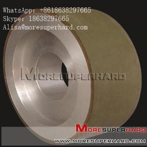 China Centerless diamond grinding wheel with high efficiency   Alisa@moresuperhard.com on sale
