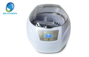 China 750ml Mini Ultrasonic Cleaner For Eyeglasses , Jewelry , Baby Feeder on sale