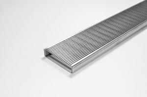 China 304 Stainless Steel Wedge Wire Screen Plate Panel Customized For Heel Guard Grating on sale