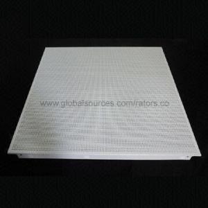 Acoustic False Ceiling Aluminum Tiles Measures 600 X 600mm 0 6 To 1
