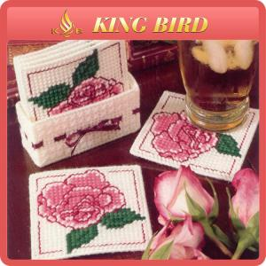 China Home Craft Decoration DIY Crochet Gift Cup Coaster Acrylic on sale