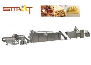 China SS Material Snack Food Extruder Machine Auto Extrusion Snacks Food Machinery on sale