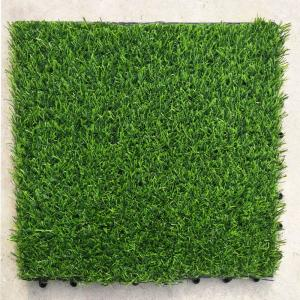 China Synthetic 30x30cm Garden Fake Artificial Grass Carpet For Balcony on sale