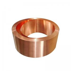 China Width 650mm Pure Soft Copper Foil Sheet Roll on sale