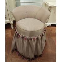 China Simple Luxurious Dressing Table Stool / Small Bedroom Chairs Bookroom Type on sale