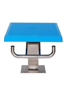 China No Corrosion Swimming Diving Blocks , Skid Proof Surface Swimmer On Starting Block on sale