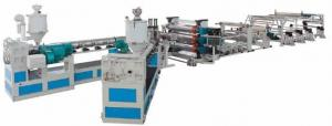 China HDPE,PP,PE,ABS bulky panel/plate single-layer co-extrusion line on sale