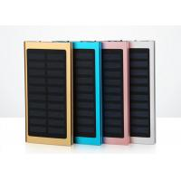 China Portable Mobile Charger Slim Power Bank Solar Energy 8000mAh 6000mAh 4000mAh on sale