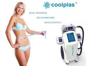 China Non Surgical Cryolipolysis Fat Freezing Machine , Coolplas Cellulite Reduction Machine on sale