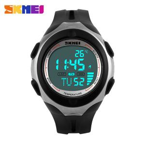 China Noctilucent Smart Waterproof Digital Watch Customized Plastic Band on sale
