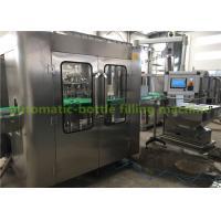 China Fully-Automatic Glass Bottle Hot Mango Juice Filling Machine With One Year Warranty on sale