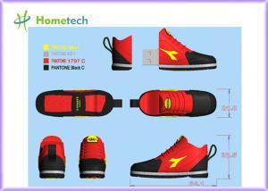 China Red sneaker shaped 4GB/ 8GB Customized USB Flash Drive Sport shoes USB Keys / custom Pen Drive 2GB -8GB on sale