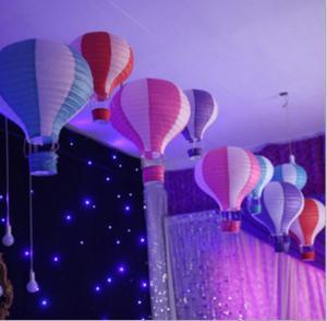China Hot Air Balltoon Paper Lanterns, Shopping Arcade Celebrations, Birthday Parties, Kindergarten Hanging Ornaments on sale