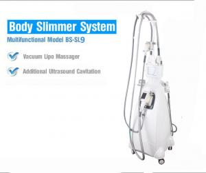 China Four Head Ultrasonic Cavitation Body Slimming Machine With Handheld Ultrasound Probe on sale