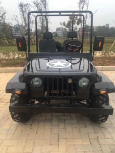 China 300CC Gas Mini Jeep Electric Car / 4 wheels electric cart model YN-CART105 for sale on sale