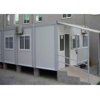 Flexible Assembly Pre Made Container House Safe Comfortable With Air - Conditioning