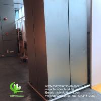 Outdoor Curtain Wall Aluminum Column Covers Solid Aluminum Porch Post Wraps