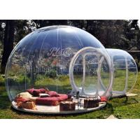Transparent Outdoor Inflatable Event Tent , PVC Inflatable Bubble Tent