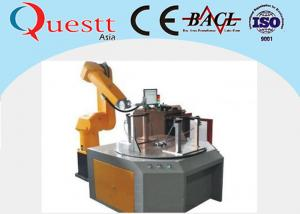 China Fiber Laser Industrial Robotic Automation System 2100mm Arm For Metal / Non Metal on sale